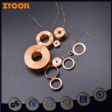 Mini bobina redonda do enrolamento do cobre do ar do eletroímã