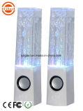 Blue Tooth Water Dancing Haut-parleur sans fil Cuboid Light LED
