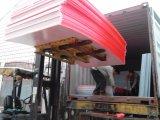反紫外線三重壁のポリカーボネートシートの空シート