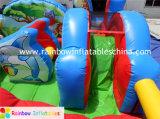子供のための膨脹可能な動物園の主題Funcity、販売のための膨脹可能な跳躍の警備員