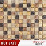 Mosaico del mármol del color de la mezcla del artista de Foshan y del vidrio cristalino