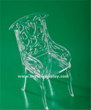 명확한 아크릴 플라스틱 접는 의자 (BTR-Q3018)