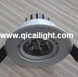 15X1w shell blanco LED Downlight