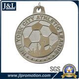 Kundenspezifischer Fußball-fördernde Sport-Metallmedaille