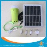 3W LED 충전기를 가진 태양 긴급 램프