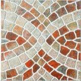 造り材料、装飾材料、無作法な床タイル、艶をかけられたタイル、磁器のタイル、家の装飾(40*40cm)のための滑り止めの床タイル