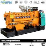 1000kVA газ Genset с китайским двигателем внутреннего сгорания