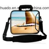 Druck-Universalneopren-Notizbuch-Laptop-Hülse für 10 Zoll 11.6 des Zoll-12 13.3 14 15.5 15.6 17 Laptop-Beutel-Schulter-Handtasche