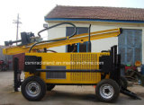 Type de roue de remorque DTH Water Well Drilling Rig (QZ-150T)