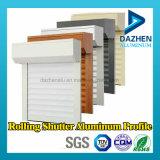ローラーシャッタードア6063の合金の塗られる陽極酸化された粉とのアルミニウム放出のプロフィール