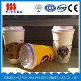 Taza de café de papel, taza de papel de la bebida caliente