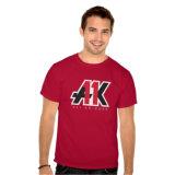 T-shirt impresso colorido do Mens