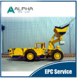 Caricatore trasportatore ribaltabile elettrico LHD di alta qualità Alhe2