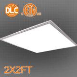 36W 100-130lm/W Comercial 2X2 LED 위원회, ETL Dlc 증명서