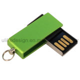Swivel / Twist Métal Promotion OEM cadeau Logo Impression USB Flash Drive