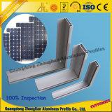 A fábrica fornece o frame de painel solar de alumínio 6063 T5