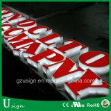 Panneau indicateur de la publicité extérieure, Signage acrylique
