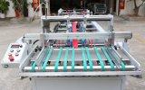 Transparenter Plastikkasten, der Maschine (Geraden Kasten, klebt)