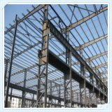 Estructura larga prefabricada del marco de acero del palmo de Q235 Q345