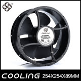 254 X 89 mm 110V AC Ventilateur de refroidissement ventilateur axial Axial 220V AC