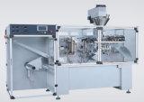 Horizontal-Tipo máquina de rellenar de la goma de la partícula de gran viscosidad del mezclador