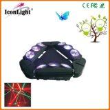 pista móvil de la araña LED de la visualización de 90W LCD mini para el disco