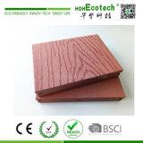 Geprägte und feste Holz-KornWPC zusammengesetzte DeckingBoard/WPC Decking-Planke