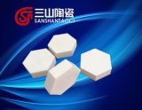 Diagonale a prova di proiettile di ceramica 20*10mm della piastrina dell'allumina esagonale