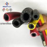 Flexibler Hochdruckgummiluft-Schlauch-Wasser-Schlauch-Vielzweckschlauch