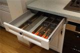 Armadi da cucina di legno solidi di nuovo disegno