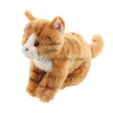 Katze-Plüsch des neuen Spielzeug-2016 entzückender lebensechten des Tier-11 ''