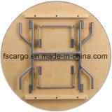 48 '' bordes plegables resistentes redondos del vector de banquete de madera de abedul W/Metal (CGT1620)