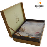 Delicado Paper Packaging Gift Boxes com cetim