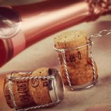 Chaîne de production de empaquetage de bouteille en verre de Champagne