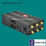 Lte Jammer señal portátil de 700MHz GSM Jammer bloqueador 6 antenas de látigo (GW-JN6L)