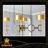 Candelabro moderno do uso dourado da HOME da cor (KAP17-057)