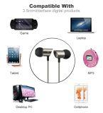 優れたインラインMicとの耳によってワイヤーで縛られるEarbudsおよびリモート・コントロール