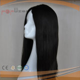 Peluca superior de seda del pelo de calidad superior de la Virgen (PPG-l-01233)