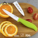 OEM Cuchillos de cocina Zirconia Ceramic Blade cocina Paring cuchillos