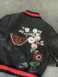 Короткая кожаный куртка для женщин, 2017new тип, высокое качество