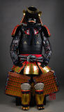 Armatura giapponese portabile del samurai per Cosplay