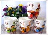 아름다운 디자인 세라믹 커피잔