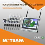 "8CH 720p Wireless Best NVR Camera System com tela LCD de 12,5 """