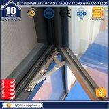 Fenêtre standard européenne en aluminium à rupture thermique en aluminium