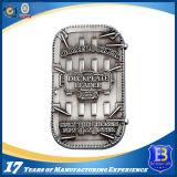 Проштемпелеванная латунью монетка сувенира с трудной эмалью (Ele-C200)