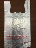 Изготовленный на заказ HDPE LDPE печатание благодарит вас хозяйственные сумки пластмассы тенниски