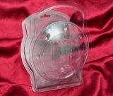 Коробки упаковки формы Clamshell волдыря ЛЮБИМЧИКА PVC изготовления на заказ пластичные с печатание
