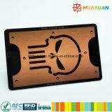 Cartão de proteção de bloqueio RFID anti scanner de cartão de crédito