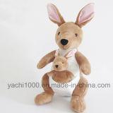 Het zachte Stuk speelgoed van de Kangoeroe van Australië van de Pluche met Baby