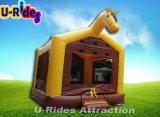 CE лошадь прыжком bouncer дом, прыжки с прыгающими мячами, детские надувные bouncer